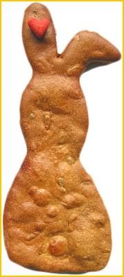 KAY KLEINs BIO Hundekekse - Osterhase 16,5 x 6 cm